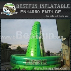 Custom inflatable climbing mountain