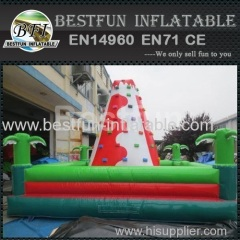 Small kids inflatable climbing mountain