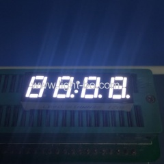 Ultra bright white small size4 digit led clock display 0.28