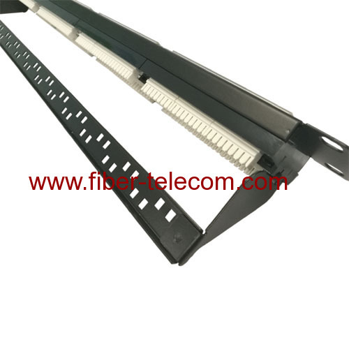 CAT.6 UTP Patch Panel 24 ports 1U
