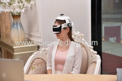 Healthcare vibrating head massager with MP3