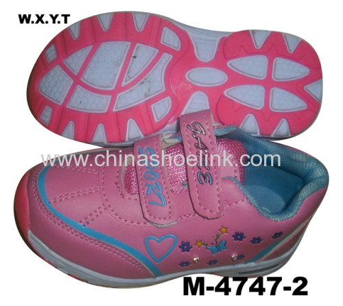 Popular Outdoor Kids Shoe with LED Light