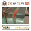 12mm Tempered glass/Safety glass with polished edge for bathroom Furniture glass