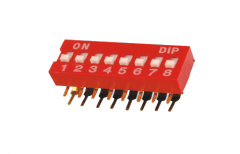 DIP switch 2.54 mm
