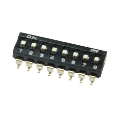 2.54mm tact DIP switch