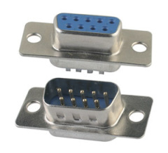 Combinatie D-SUB Connectors soldeertype koperlegering