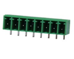 rechte hoek 3.50/3.81mm pluggable aansluitblok
