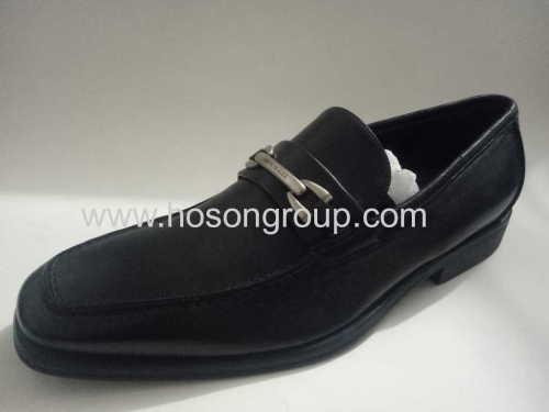 Manufacturing plain toe men office shoes