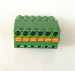 Pluggable screw terminal blocks
