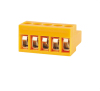 Wholesale 3.96mm Pitch Pluggable Plug in Terminal Block 28-14 AWG