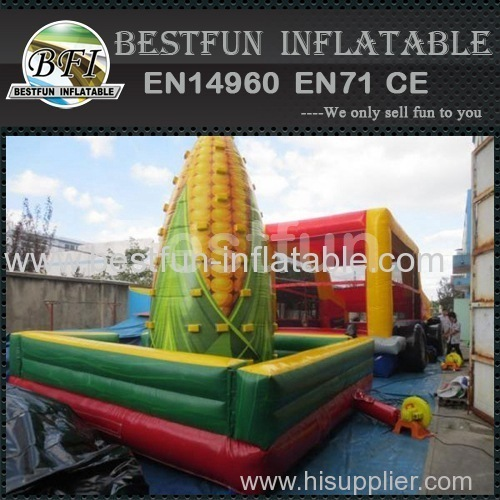 outdoor inflatable rock climbing wall for kids