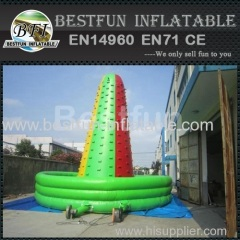Adventure inflatable rock climbing wall Supplier
