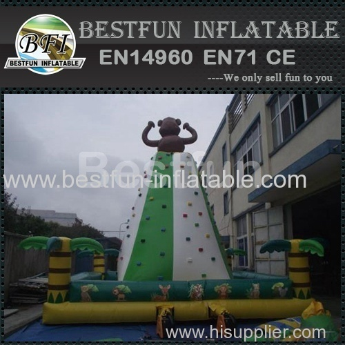 kids inflatable climbing mountain