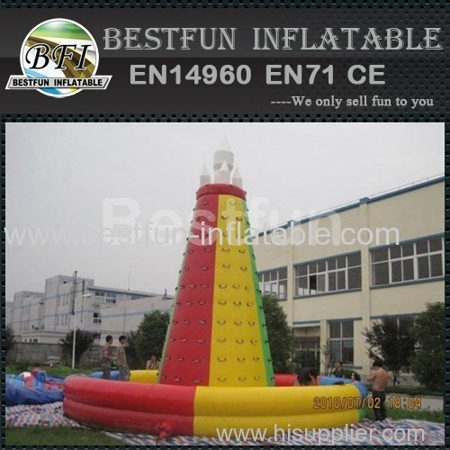 popular inflatable rock climbing wall