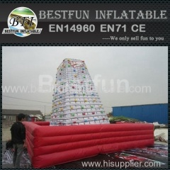 Adult inflatable mountain climb