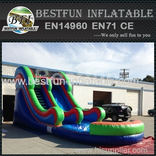 Cheap typical water slide