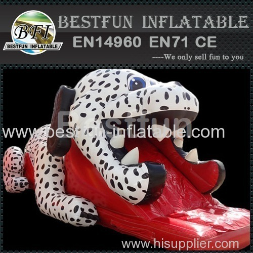 dalmation inflatable slide for kids