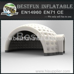 inflatable event tent with door