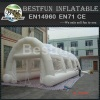 white large waterproof inflatable tent