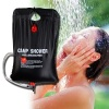 solar camp shower bag