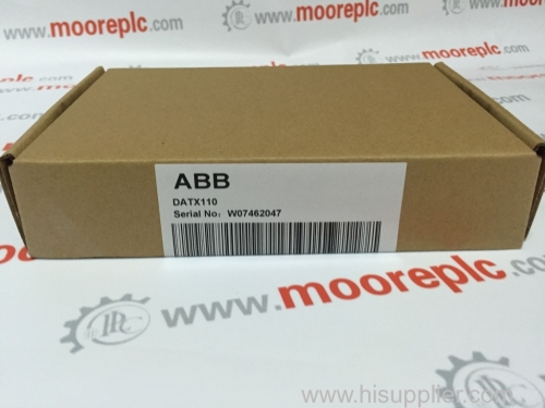 ABB AI843 Analog input module 8-channel thermocouple can be redundant