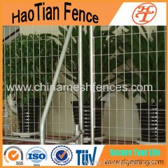 2.1x2.4m Standard Hot-dipped Galvanized Temporary Fencing for Australia