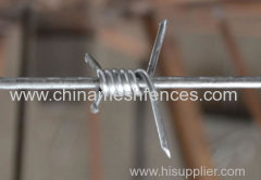 PVC COATED BAREBD WIRE