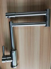 kitchen basin stainless tap folding basin faucet
