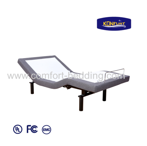 OKIN motor Electric Bed Adjustable Bed Head and Foot up Down Bed