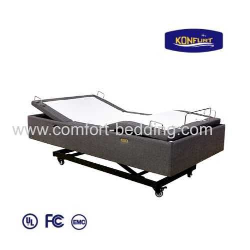 Unique Design Hi-Lo Bed Electric Bed Adjustable Bed Head & Foot up Down Bed