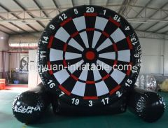 New Design Inflatable foot dart board velcro game