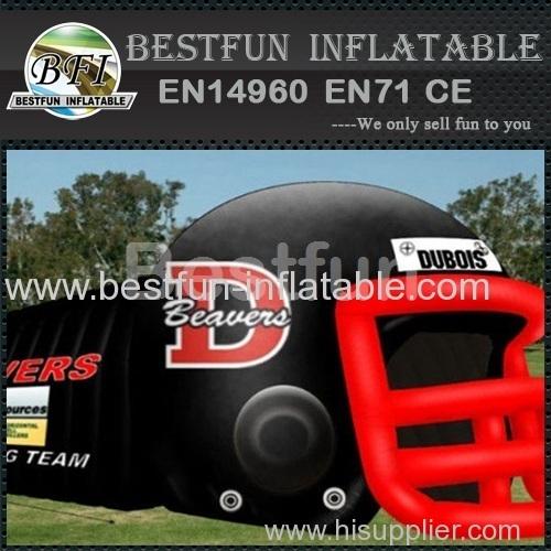 Inflatable Football Helmet Run Through