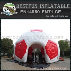 inflatable soccer igloo tent