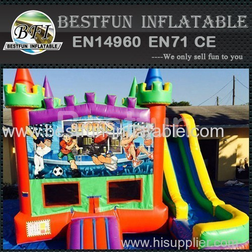5 in 1 sport bounce house