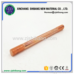 Copper Plated Theaded Rod Electroplating