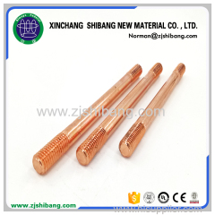 Pure Threaded Copper Clad Steel Ground Rod