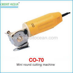 CREDIT OCEAN mini round cloth cutting machine