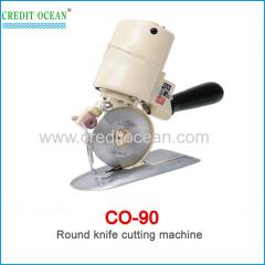 CREDIT OCEAN round knife cloth cutting machine for garment fabric