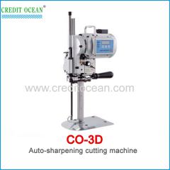 CREDIT OCEAN auto-sharpening cloth fabric cutting machine