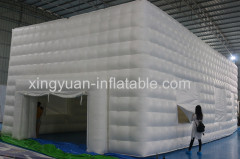 Giant inflatable cube tent for exhibition