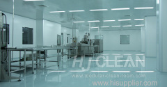 Cleanroom turnkey project solution