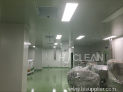 Clean room turn key contract