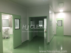 Pharmaceutical cleanroom turnkey project