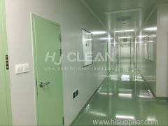 Pharmaceutical cleanroom turnkey service