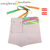 Custom heavy duty cotton waist apron