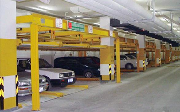 Mechanical parking systems are becoming more and more popular in Beijing
