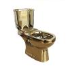 Modren gold plating two piece toilet bowl