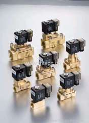 2/2 way Brass Solenoid valves