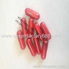 大きなサイズの赤いカプセルの発芽性的な薬良い効果