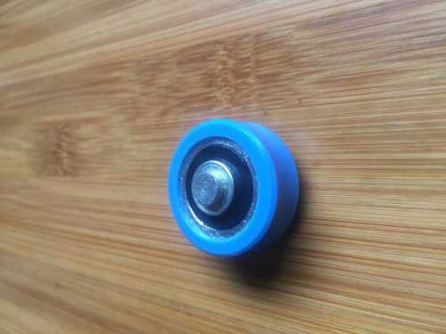 Nylon plastic coated wheel bearing
